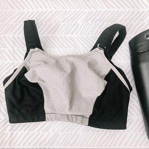 GLAMORISE women's double layer custom sports bra